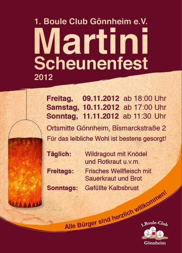 Martini Scheunenfest 2012